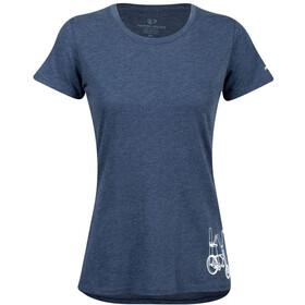 PEARL iZUMi Graphic Koszulka z krótkim rękawem Kobiety, niebieski